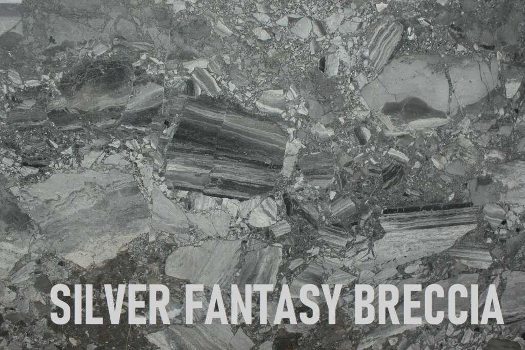 Silver Fantasy Breccia
